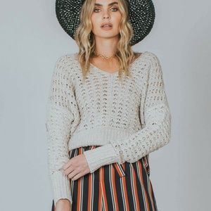Free People 'Best Of You' Loose Knit Sweater